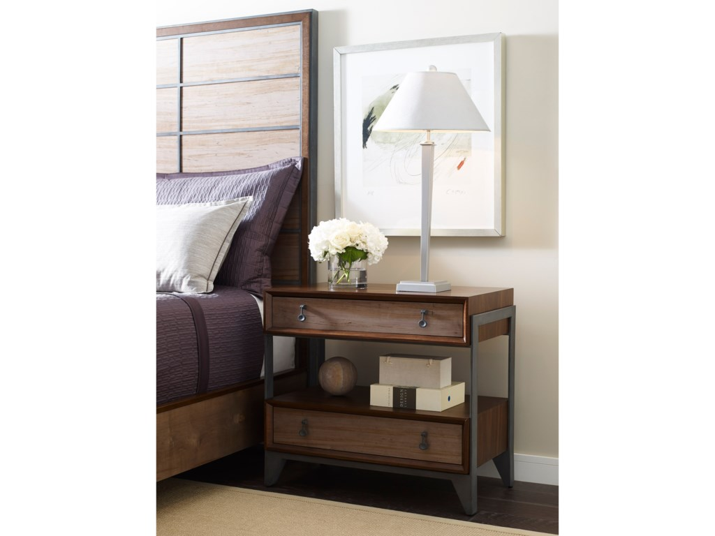 American Drew Modern SynergySuspend Night Stand