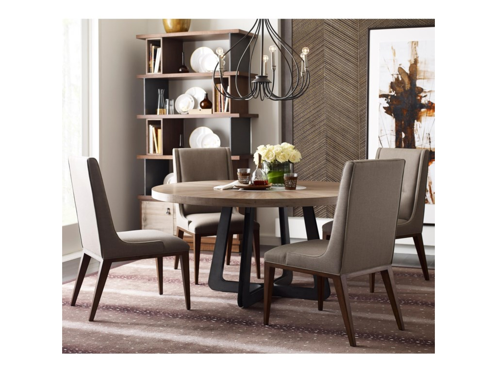 American Drew Modern SynergyRound Table and Chair Set