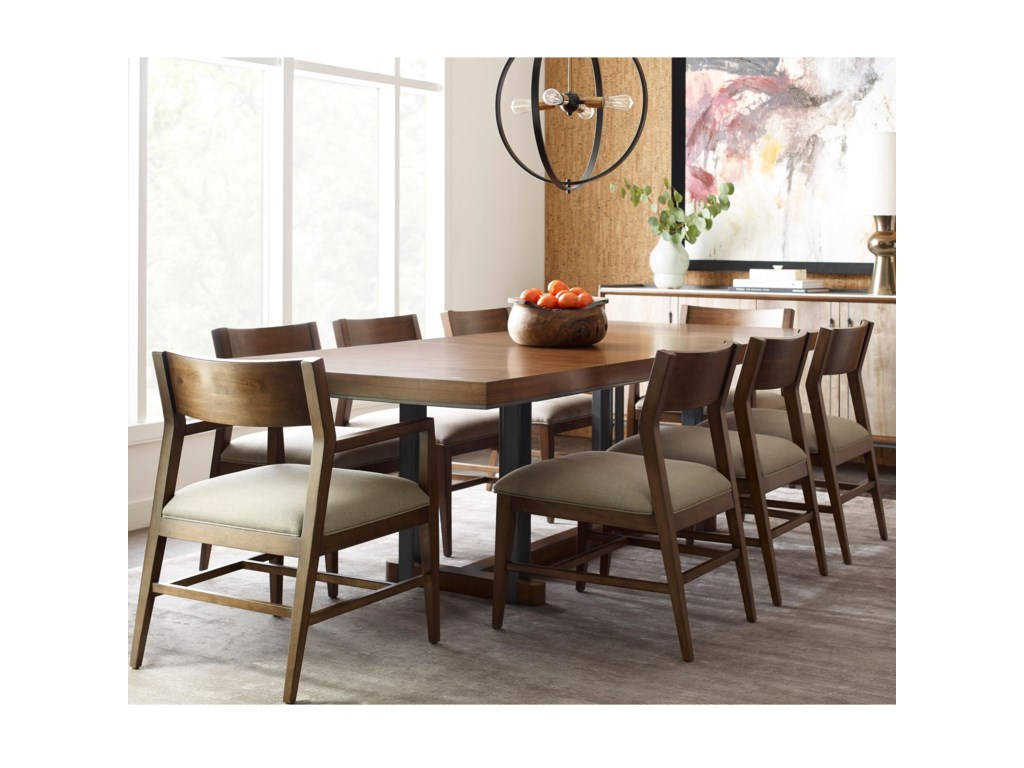 American Drew Modern SynergyRectangular Dining Table and Chair Set