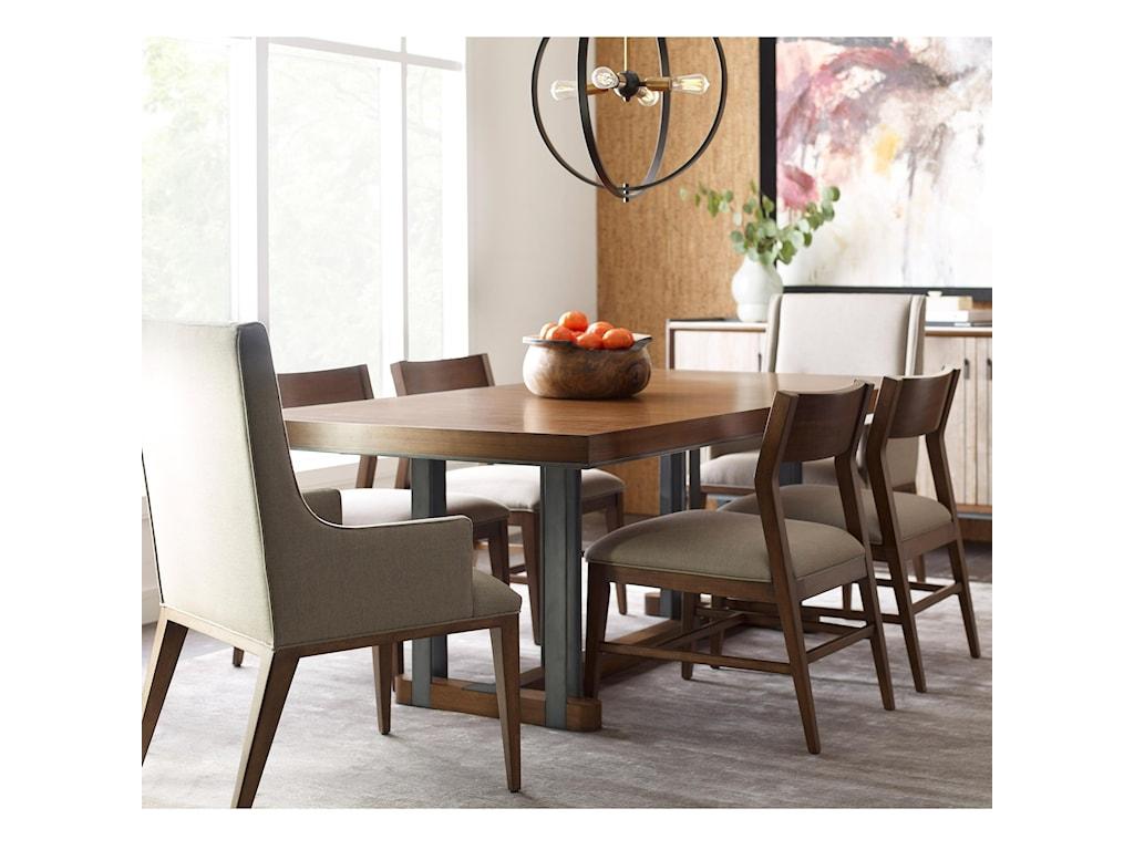 American Drew Modern SynergyRectangular Dining Table and Chair Set
