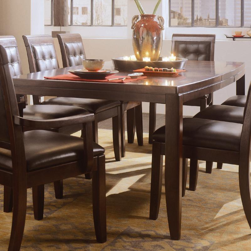 Bon American Drew Tribecca Rectangular Leg Formal Dining Table