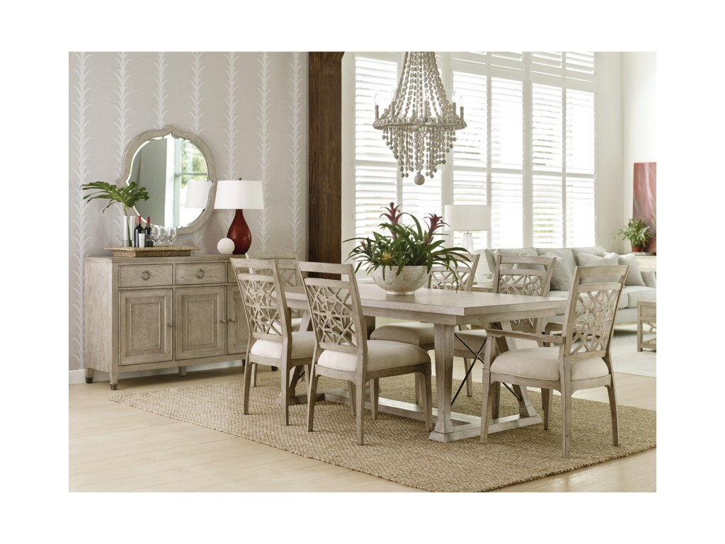 American Drew Vista Formal Dining Room Group Hudson S Furniture