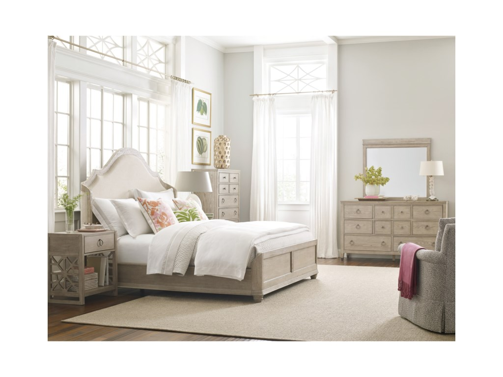 American Drew VistaCalifornia King Haven Shelter Bed