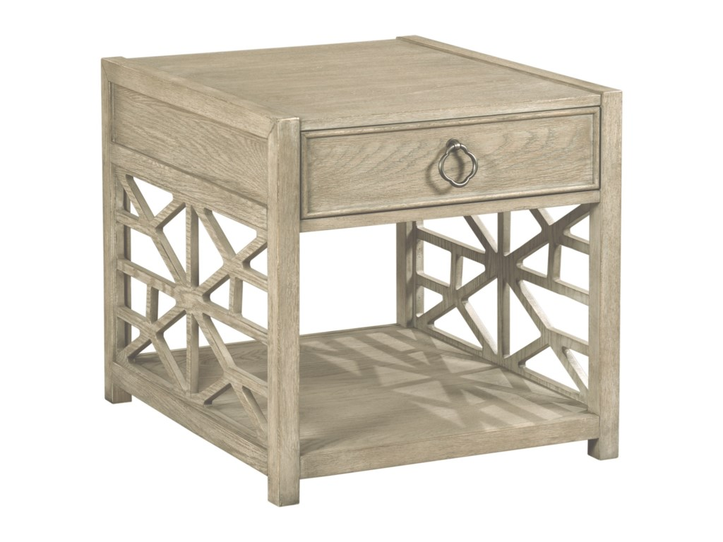 American Drew VistaBiscane Drawer End Table