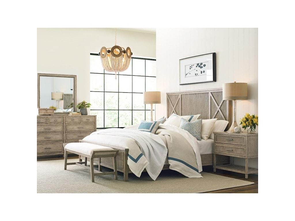 American Drew West ForkCalifornia King Bedroom Group