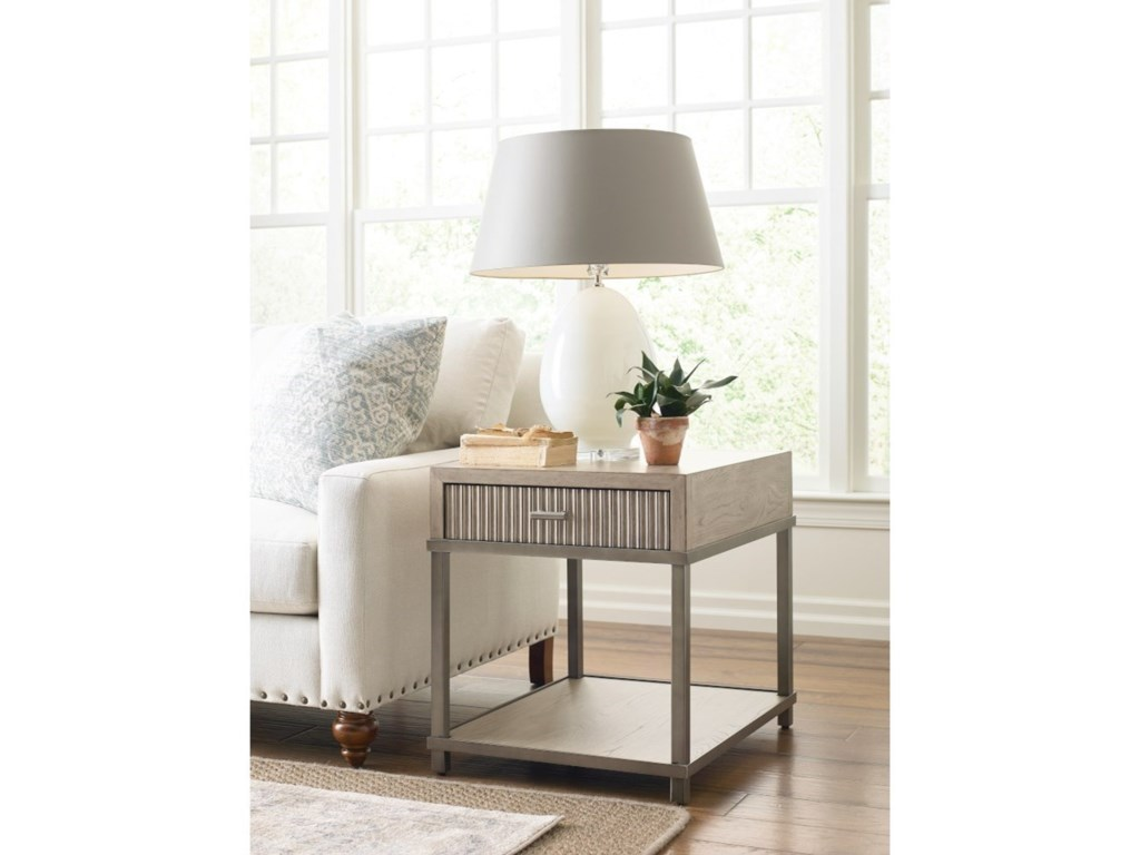 American Drew West ForkEnd Table