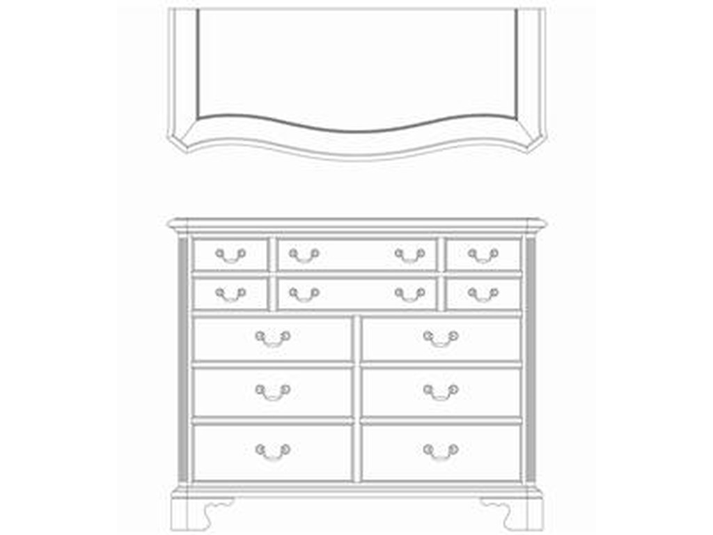Living Trends Cherry Grove 45thDressing Chest