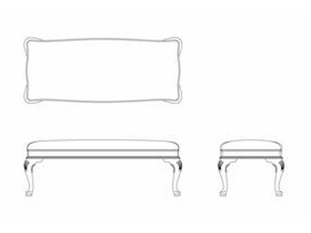 Living Trends Cherry Grove 45thBed Bench