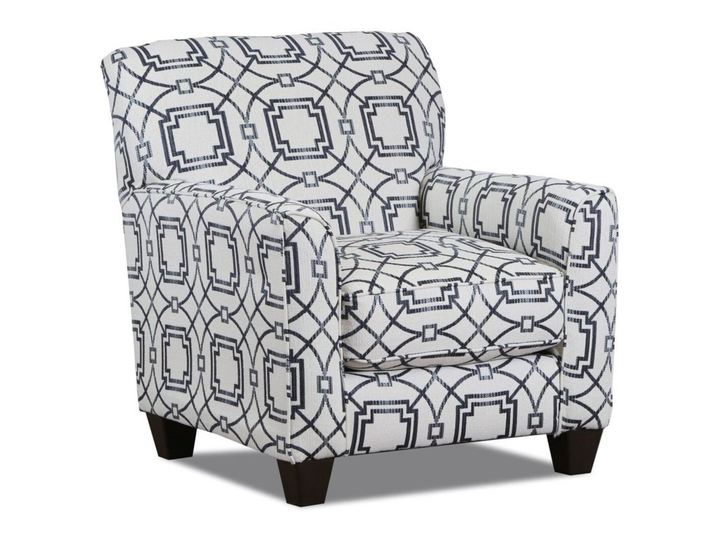 American Furniture 1010Casual Styled Accent Chair