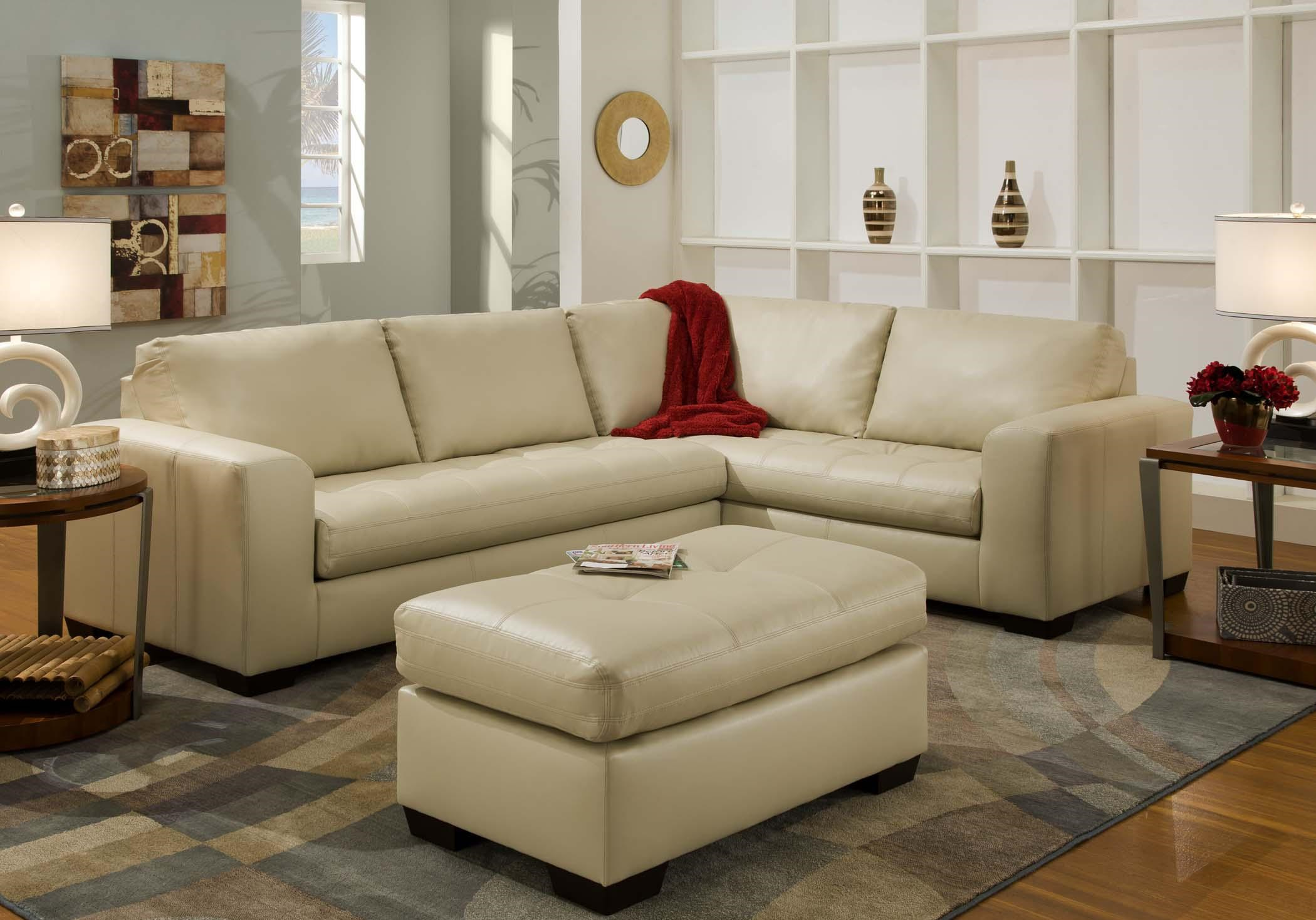 American Furniture 1230Sectional Sofa