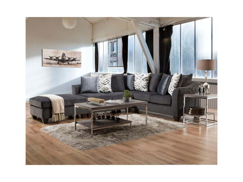 American Furniture 1370Sectional