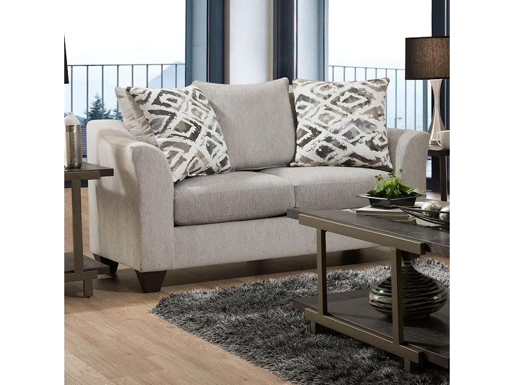 American Furniture 1380Loveseat