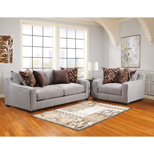 American Furniture 1400 Stationary Living Room Group