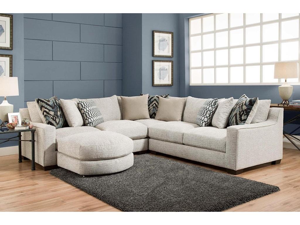 American Furniture 1400Sectional Sofa
