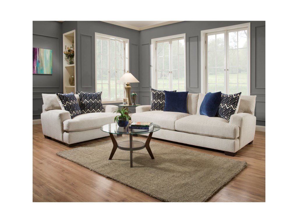 American Furniture 1600Living Room Group