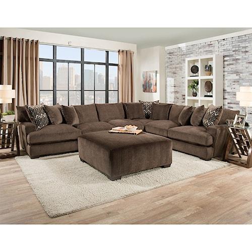 American Furniture 1600 Living Room Group