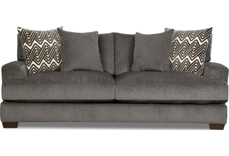 1600 Contemporary Sofa with Gel-Infused Cushions by Peak Living at Darvin  Furniture