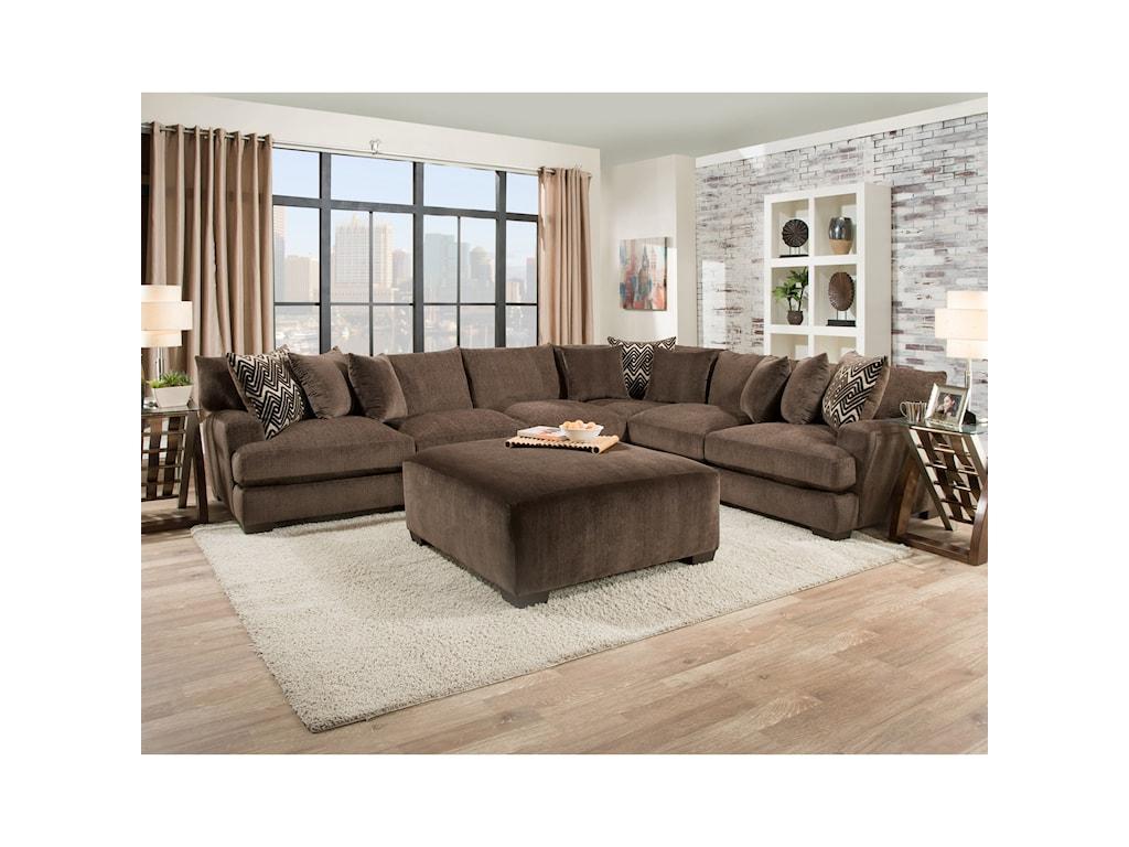 American Furniture 1600Ottoman