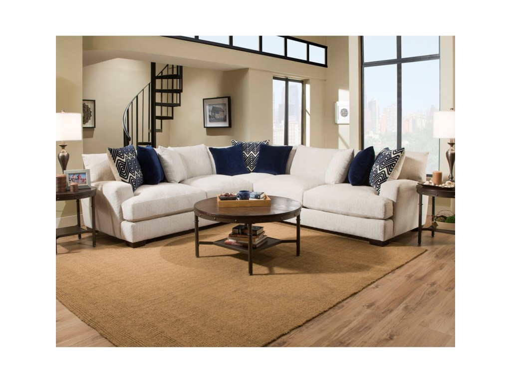 American Furniture 16004 Seat Sectional
