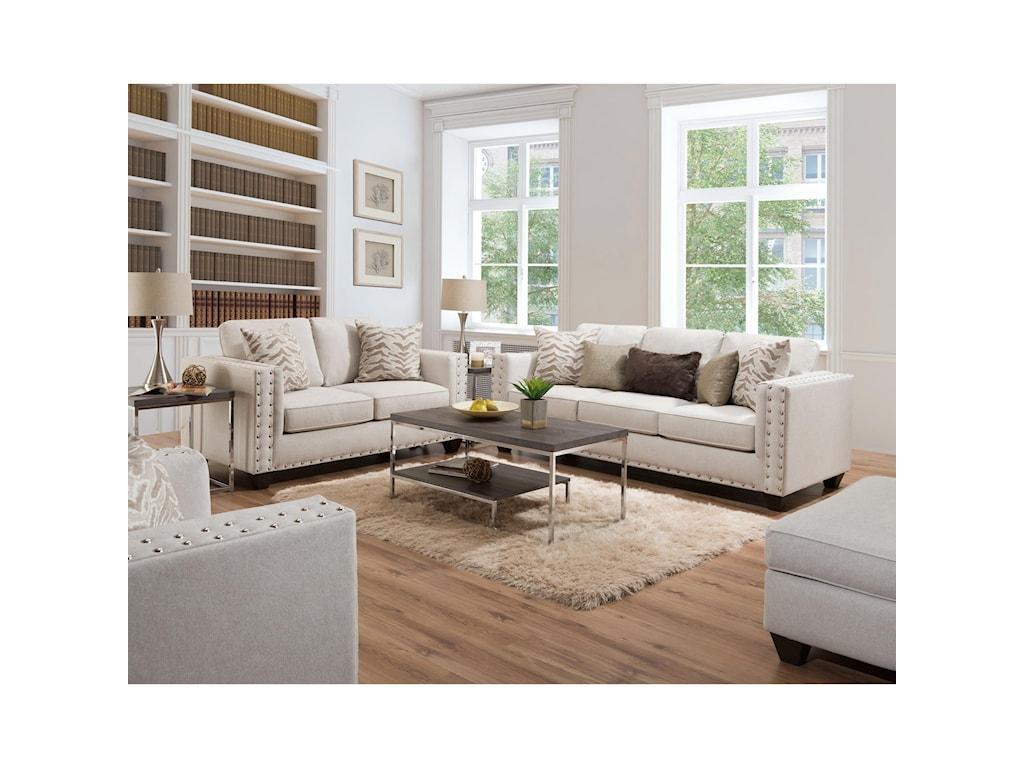 American Furniture 1700Contemporary Loveseat