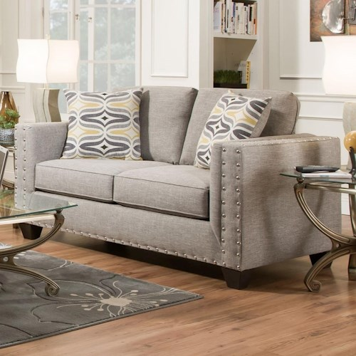 American Furniture 1700 Contemporary Loveseat
