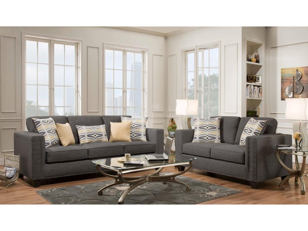 American Furniture 1700Contemporary Loveseat