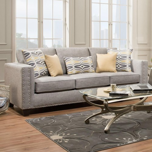 American Furniture 1700 Contemporary Sofa