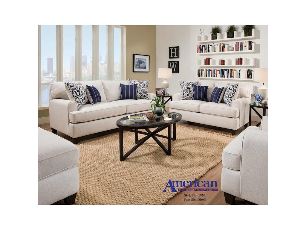 American Furniture 1950Loveseat