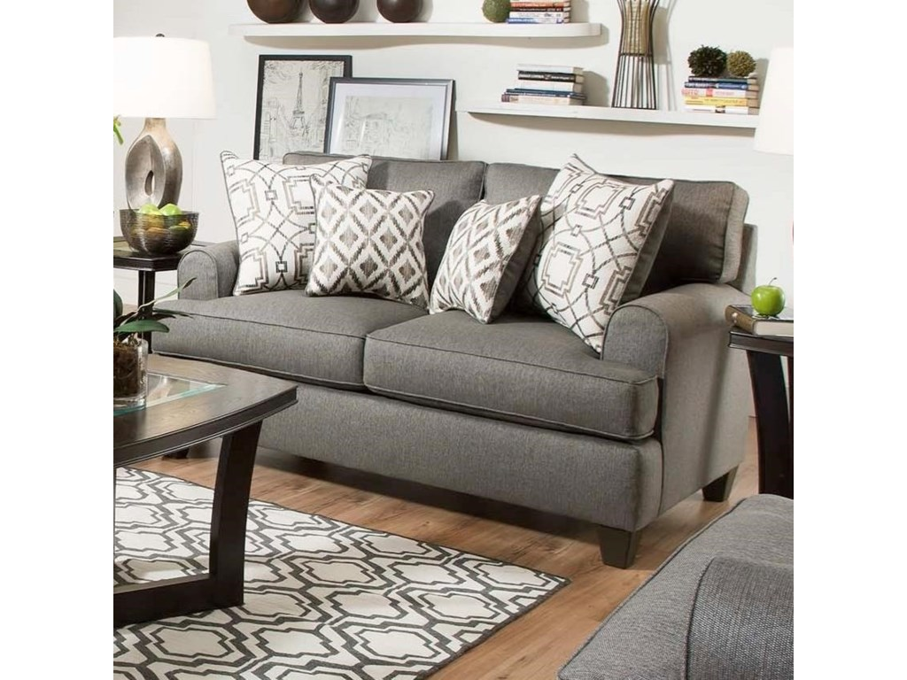 American Furniture 1950 Casual Styled Loveseat | Rooms for ...