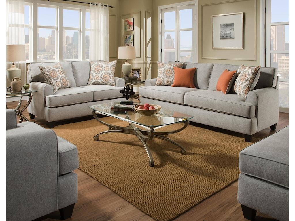 American Furniture 1950DovePopstitch Chair