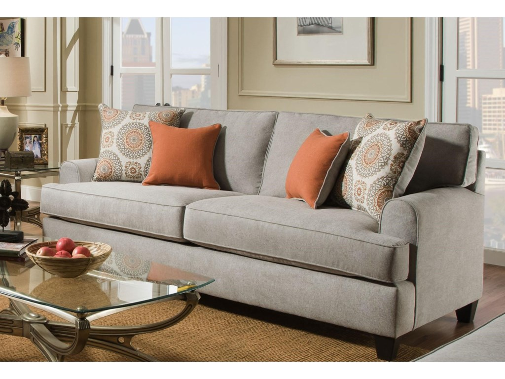 American Furniture Popstitch DoveSofa