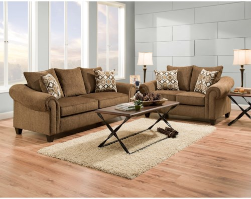 American Furniture 2700 Stationary Living Room Group