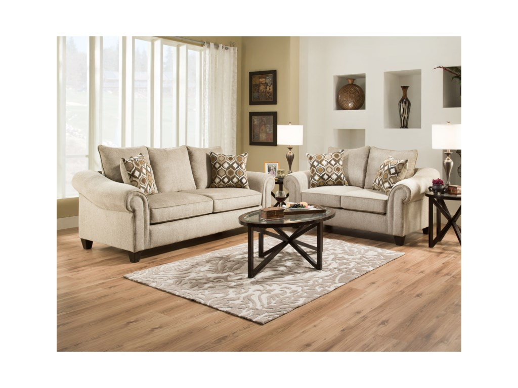 American Furniture 2700Stationary Living Room Group