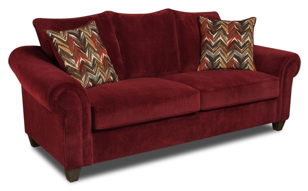 American Furniture 2800 Sofa with Casual Style Prime Brothers