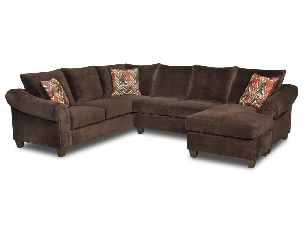 American Furniture 2800Sectional Sofa
