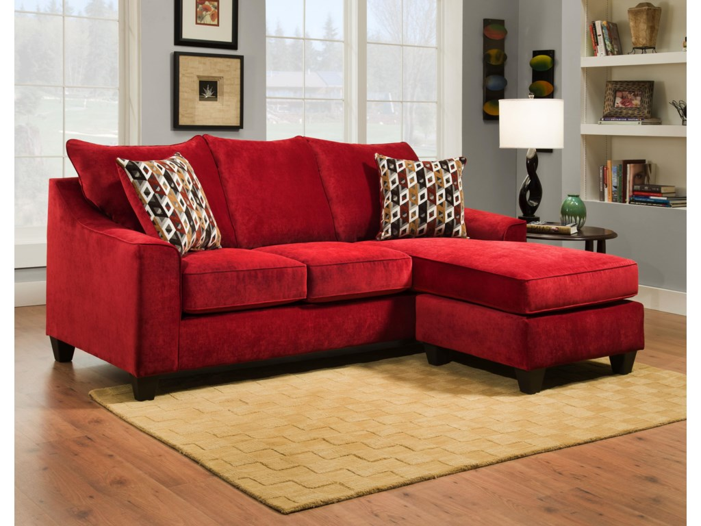 American Furniture 29573 Seat Sofa Chaise