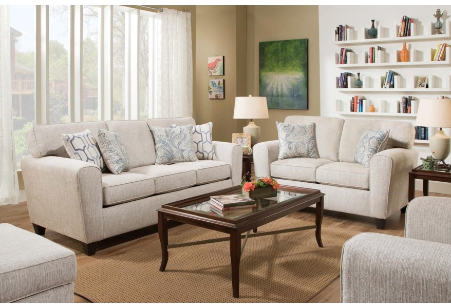 Peak Living 3100 Sofa with Casual Style   Prime Brothers ...
