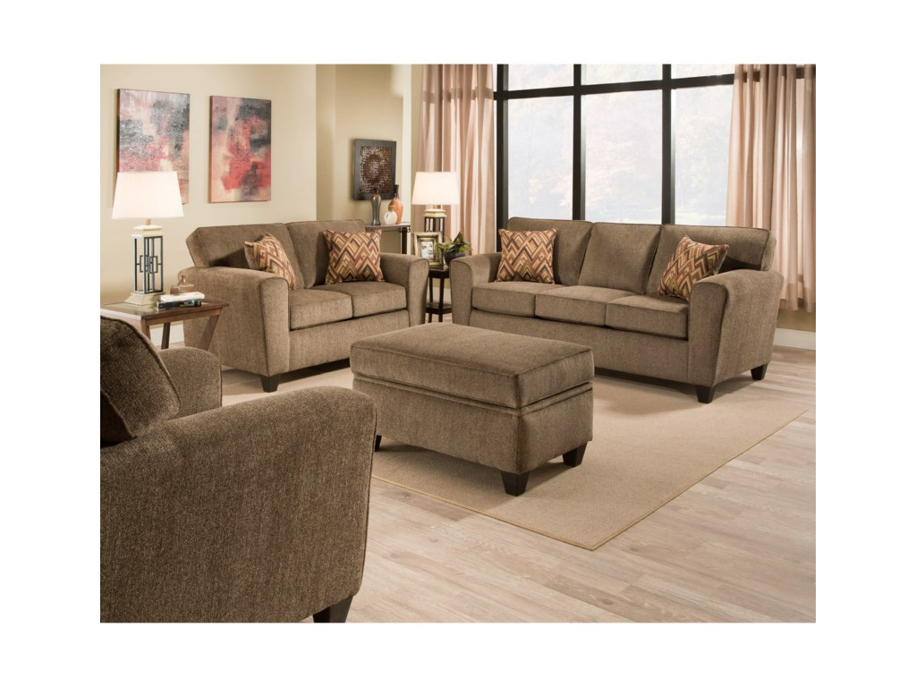 American Furniture 3100Living Room Group
