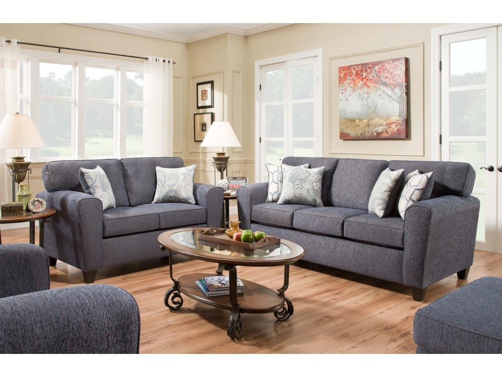 American Furniture 3100 Living Room Group