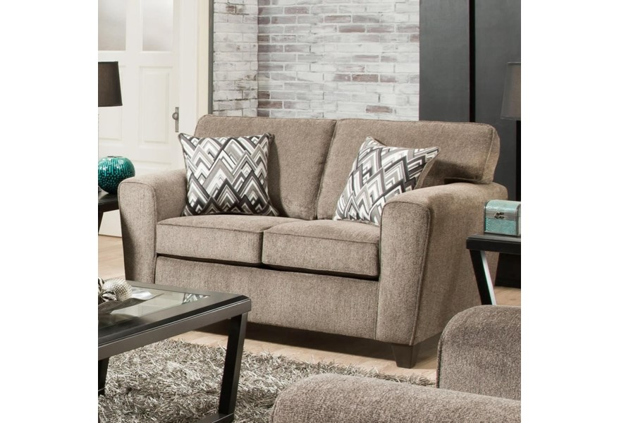 3100 Loveseat with Casual Style