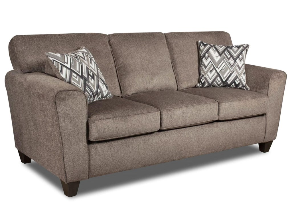American Furniture UptownSofa with Casual Style