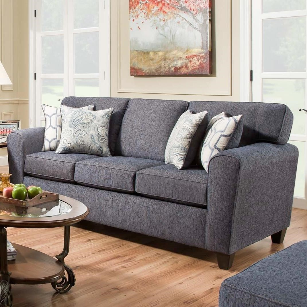 Charmant American Furniture 3100 Sofa With Casual Style