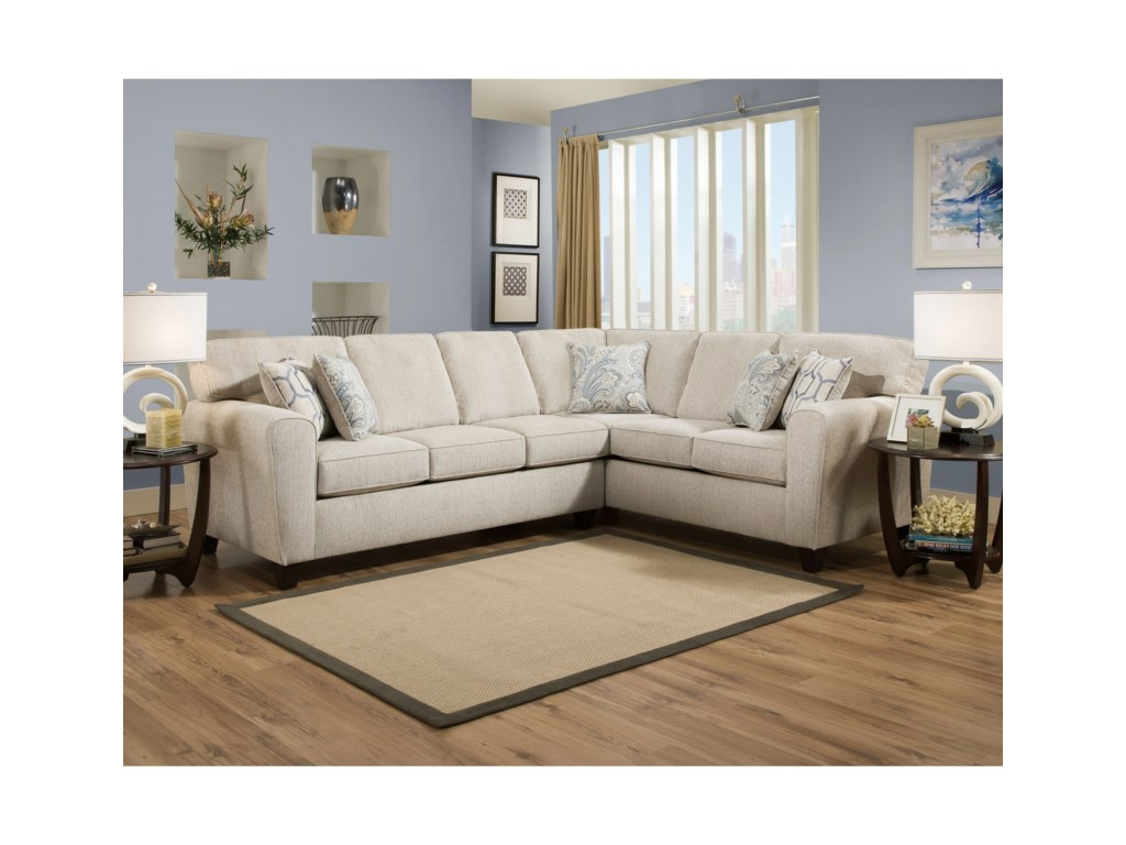 American Furniture 3100Sectional Sofa