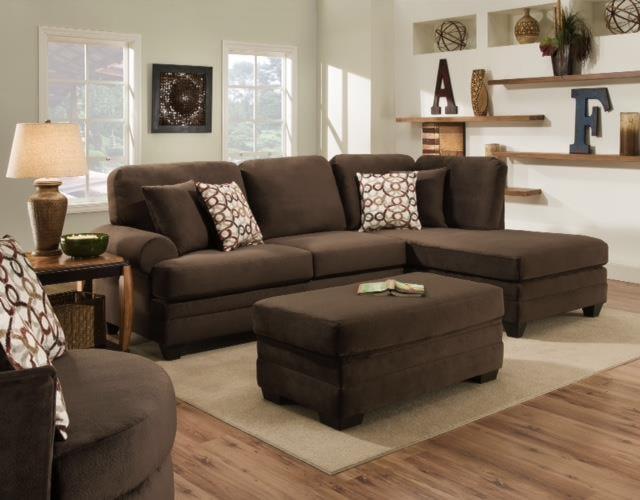 American Furniture 3500 Storage Ottoman