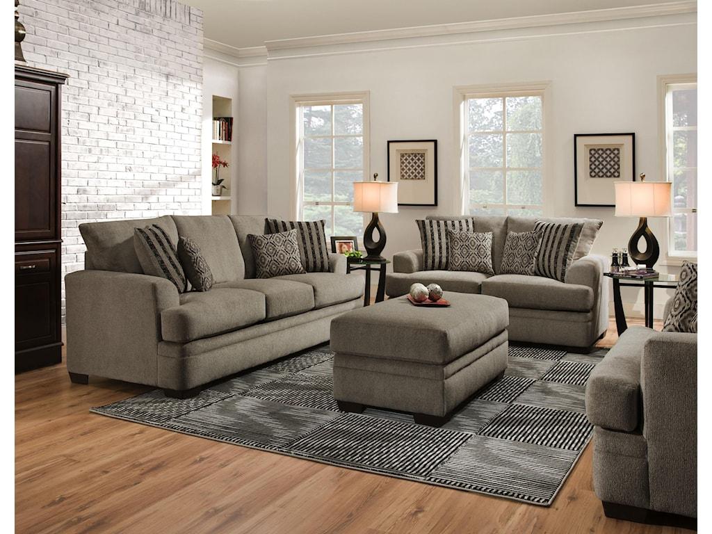 Vendor 610 3650Stationary Living Room Group