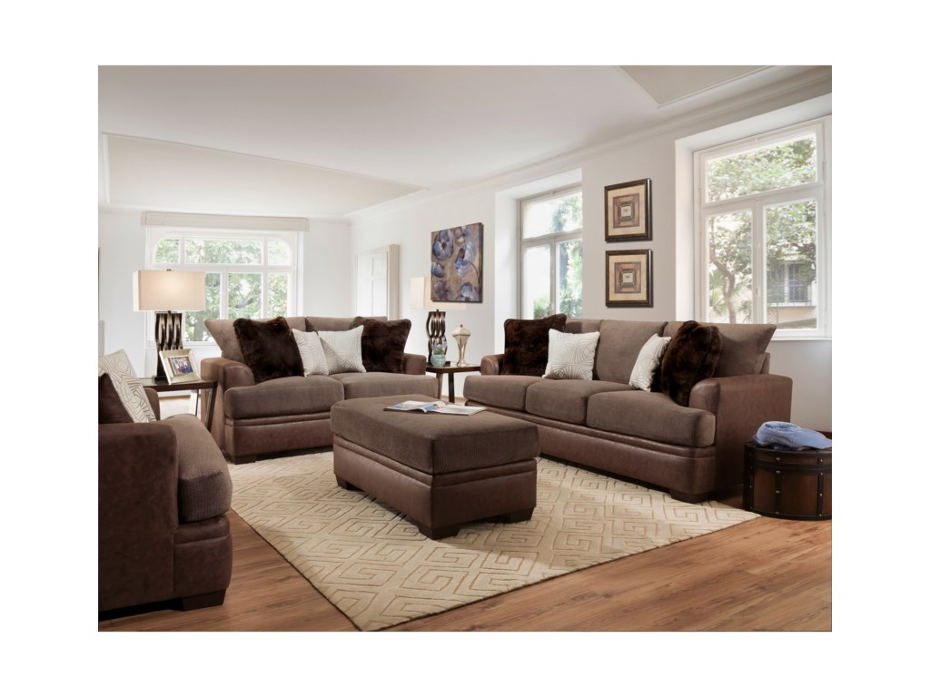 American Furniture 3650Loveseat