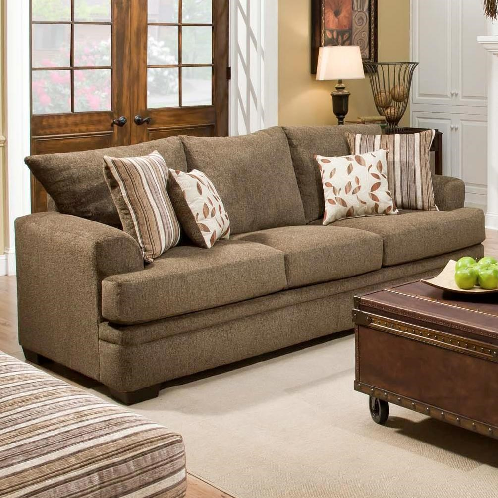 American Furniture 3650 Casual Sofa With 3 Seats Prime Brothers
