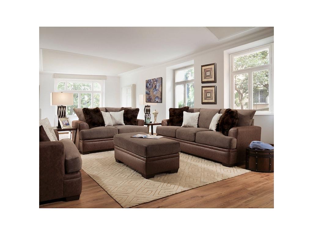 American Furniture 3650Sofa