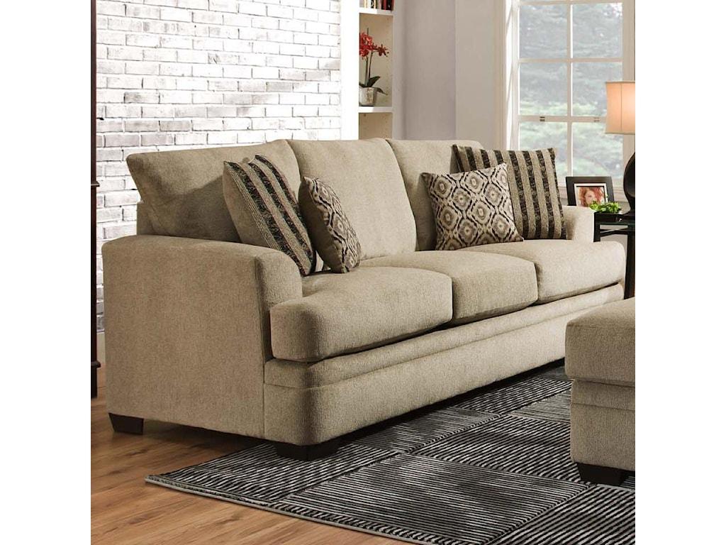 American Furniture 3650Queen Sofa Sleeper