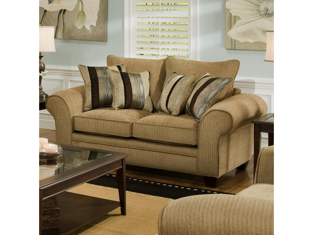 American Furniture 3700Upholstered Love Seat